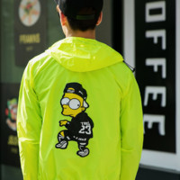 Men Windbreaker Korean Trick Cartoons Couple Jacket = 9959372934