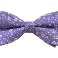 Milligan Flowers - Lavender (Bow Ties) - Wear Your Good Tie. Every Day