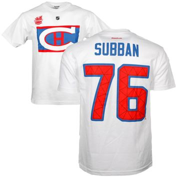 Montreal Canadiens PK Subban 2016 NHL Winter Classic Player Name and Number T-Shirt