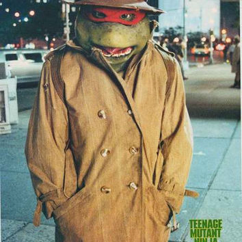 Teenage Mutant Ninja Turtles Raphael Poster 22x32