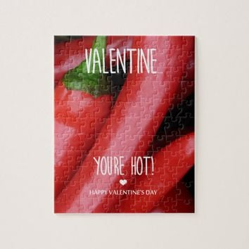 Valentine, you are hot! jigsaw puzzle