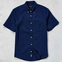 CPO Washed Indigo Short-Sleeve Dress Shirt