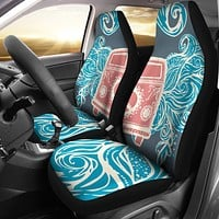 Retro Hippie Car Seat Covers