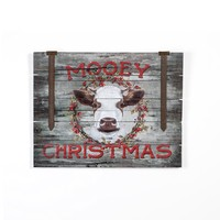 MOOEY CHRISTMAS SIGN