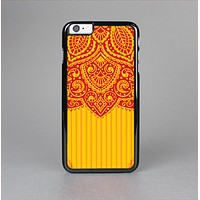 The Gold & Red Abstract Seamless Pattern Skin-Sert for the Apple iPhone 6 Skin-Sert Case
