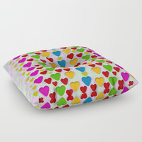 So sweet and hearty as love can be Floor Pillow by Pepita Selles