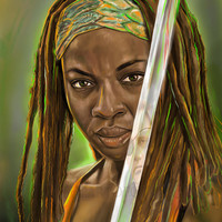 "Michonne - ""The Governor's Blood"""