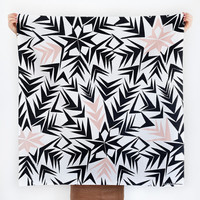 Angles furoshiki. Japanese eco wrapping textile/scarf, handmade in Japan