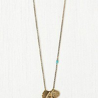 Free People  Seasonal Moon Necklace at Free People Clothing Boutique