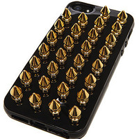 Felony Case The iPhone 5 Case in Black and Gold Spikes : Karmaloop.com - Global Concrete Culture
