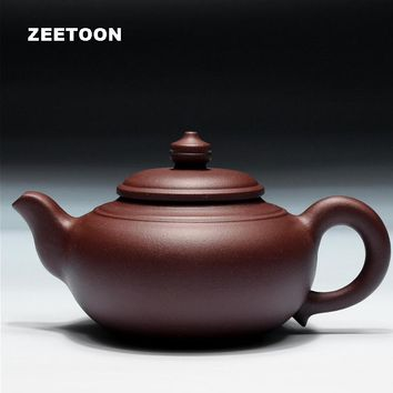 320cc Authentic Yixing Teapot Chinese Healthy Purple Clay Fang Gu Pot All Handmade China Zisha Kungfu Tea Set Vintage Home Decor