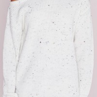 Missguided - Ophelita Off Shoulder Sweater Cream Nep