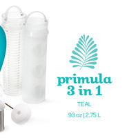 Teal 3 In 1 Pitcher - This Multitasking Pitcher Can Brew Your Tea, Chill It Or Infuse It With Fresh Fruits | DavidsTea