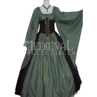 Dagget Sleeve Cincher & Skirt Set - MCI-4039 by Medieval Collectibles