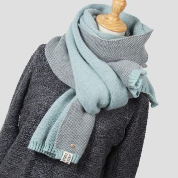 New arrival Women Fashion Winter Scarf Wool Knitted Scarves Shawls Women Thick Warmer Cowl Neck Winter Pineapple Scarfs Stoles