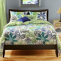 Bali Reversible Queen-size 6-piece Duvet Cover Set | Overstock.com
