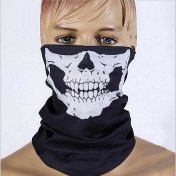 ESBONJ Halloween Mask Sexy Scary Skull Horror Skeleton Ghost Mask Motorcycle Bicycle Scarf Cap Festive Party Masks Halloween