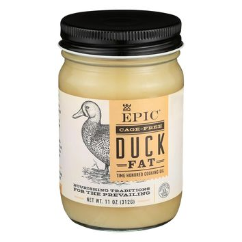 Epic Animal Oil - Duck Fat - Case Of 6 - 11 Oz.