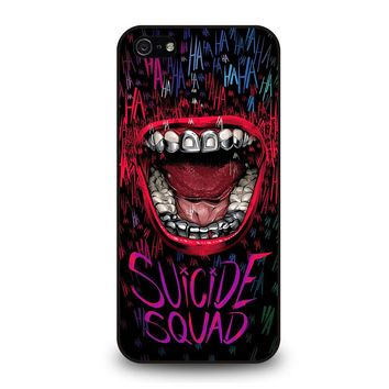 JOKER COMIC SUICIDE SQUAD HAHAHA iPhone 5 / 5S / SE Case