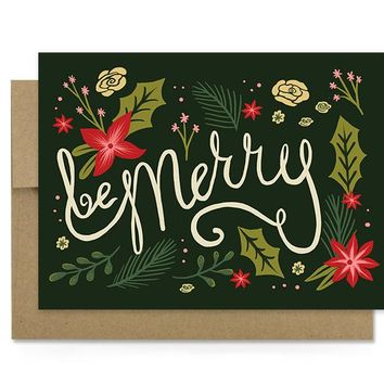 Be Merry - Holiday Card