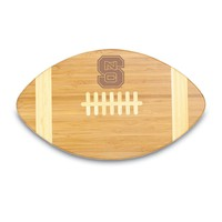 Picnic Time North Carolina State Wolfpack Touchdown! Cutting Board (Wood)
