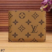 LV Louis Vuitton 2018 new limited edition short wallet wallet F-KSPJ-BBDL #7