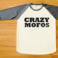 CRAZY MOFOS Shirt Niall Horan Shirt 1D Shirt One Direction Shirt Rock Shirt Long Sleeve Tee Shirt Women Shirt Men Shirt Baseball Shirt S,M,L