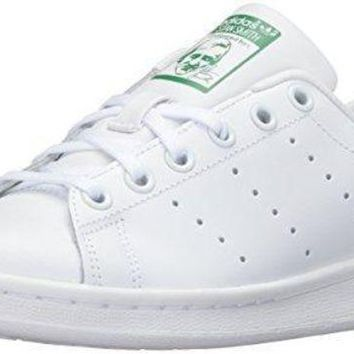 PEAPNU adidas Performance Stan Smith J Tennis Shoe (Big Kid) adidas original shoe