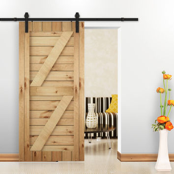 Rustic Vintage Plate Sliding Barn Door Hardware Rustic Black Barn Door Sliding Track System