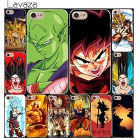 Lavaza Dragon Ball z goku DragonBall Hard White Coque Shell Phone Case for Apple iPhone 8 7 6 6S Plus 5 5S SE 5C 4S X 10 Cove