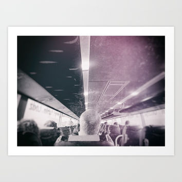 street photo PASSENGER #streetphoto #photo Art Print by jbjart