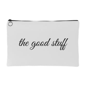 The Good Stuff Makeup Pouch | The Inked Elephant
