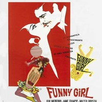 Funny Girl (Italian) 27x40 Movie Poster (1969)