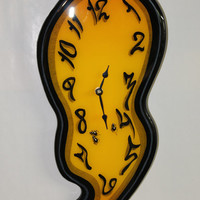 Melting Wall Clock Discounted by MeltingClocksOrg on Etsy