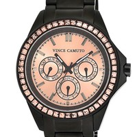 Women's Vince Camuto Crystal Bezel Multifunction Bracelet Watch, 42mm