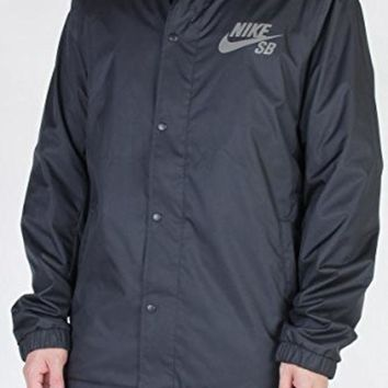 CREYON Nike SB Mens Assistant Coaches Jacket (Small, Black)
