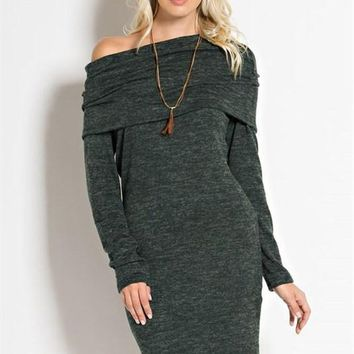 Warm Welcome Sweater Dress - FINAL SALE