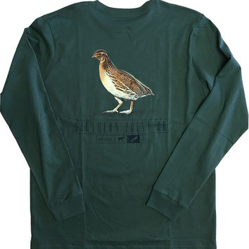Southern Point - SIgnature L/S Tee Field Series Quail