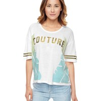 Palm Leaf Juicy Tee by Juicy Couture,