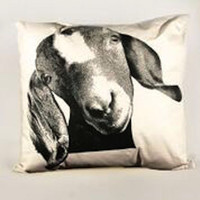 Goat Head Pillow Medium