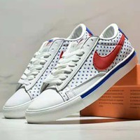 NIKE BLAZER LOW breathable sports casual men and women casual versatile shoes #5