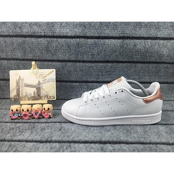Adidas Originals Stan Smith Shoes Junior Version Of Sneakers Rose Gold