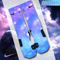 Custom Nike Elite Socks - Galaxy | Lacrosse Unlimited