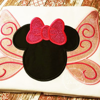 Tinkerbell Mouse Custom embroidered Disney Inspired Vacation Shirts for the Family!
