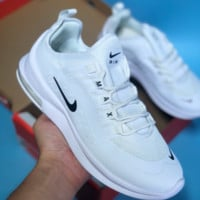 80ea30f5eb4950 AUGUAU N353 Nike Air Max 98 AXIS Vintage Cushioned Sneakers White Black