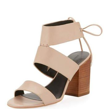 Rebecca Minkoff Christy Leather City Sandal, Nude