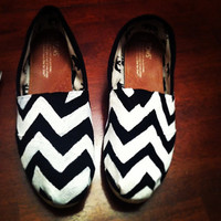 Custom Painted Toms by GlitzySouthernChic on Etsy