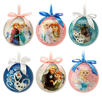 Frozen Sketchbook Ball Ornament Set