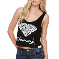 Diamond Supply Co Tribal Tank - Womens Tee - Black -