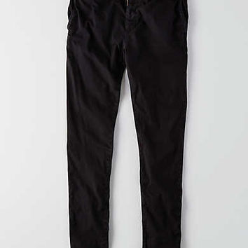 AEO Slim Taper Extreme Flex Chino, Bold Black